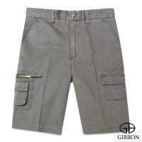 GIBBON 強力騎士複合式口袋短褲‧灰色30~42