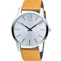 CK Calvin Klein City完美主義簡約石英腕錶 K2G21138