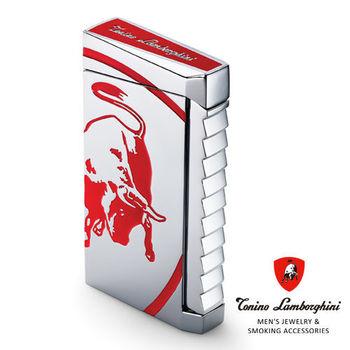 義大利 藍寶堅尼精品 - ILTORO LIGHTER 打火機(紅色) ★ Tonino Lamborghini 原廠進口 ★