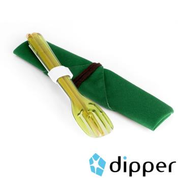 dipper 3合1環保餐具組(陶瓷湯匙)