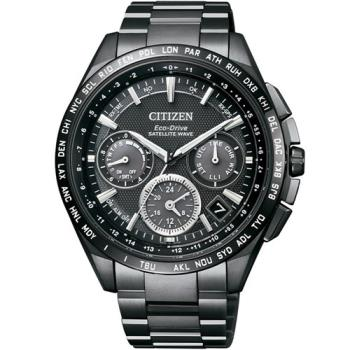 星辰 CITIZEN 光動能【鈦】感光衛星計時腕錶 CC9017-59E