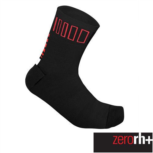 ZeroRH+ 義大利SPRINT中筒運動襪(9 cm) ●黑/紅、黑/螢光黃● ECX9085