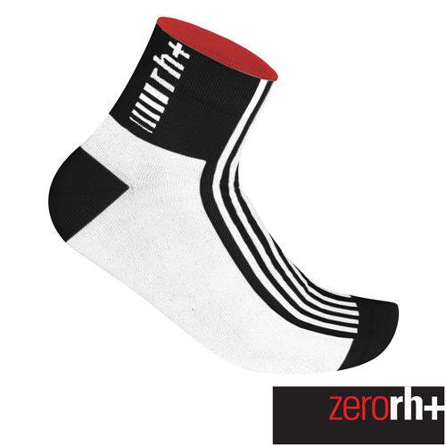 ZeroRH+ 義大利FUEGO低筒運動襪(6 cm) ●黑/白、螢光黃、白/黑● ECX9083