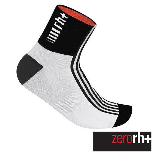 ZeroRH+ 義大利FUEGO中筒運動襪(9 cm) ●黑/白、螢光黃、白/黑● ECX9068
