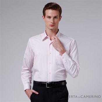 ROBERTA諾貝達 台灣製 嚴選穿搭 細條紋長袖襯衫RDC79-72粉紅