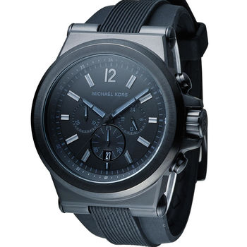 Michael Kors Dylan系列競速方程式計時腕錶 MK8152 黑