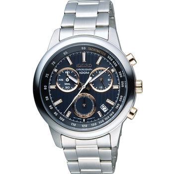 SEIKO CS系列 百變時尚個性腕錶 8T68-00A0P SSB215P1