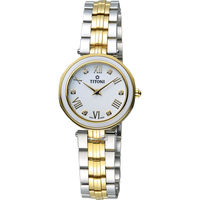 TITONI 梅花錶優雅伊人時尚腕錶 TQ42938SY-W-548 雙色款