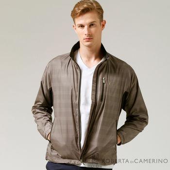ROBERTA諾貝達 進口素材 輕薄休閒防潑水夾克外套ROD92G-85淺咖