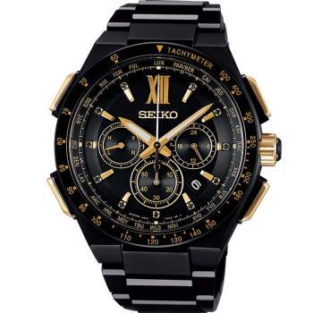 SEIKO 精工 Brightz 太陽能電波限量腕錶 8B92-0AG0SD  SAGA212J