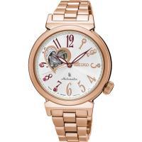 SEIKO 精工 LUKIA 耶誕限定經典機械錶 4R38-01C0G SSA834J1