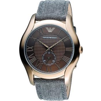 EMPORIO ARMANI 羅馬時光時尚腕錶 AR1985
