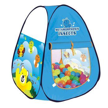 兒童遊戲彩球帳篷-小蜜蜂(附100顆球)