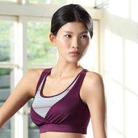 【華歌爾】城市輕運動系列B-D罩杯瑜珈內衣(亮紫紅)