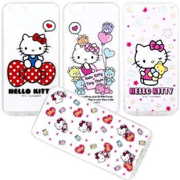 【Hello Kitty】OPPO R9s (5.5吋) 彩繪空壓手機殼
