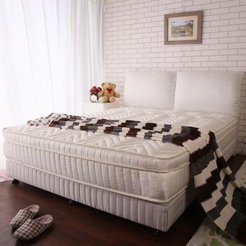 【契斯特】夢潔白3M防潑水處理獨立筒床組-雙人5尺