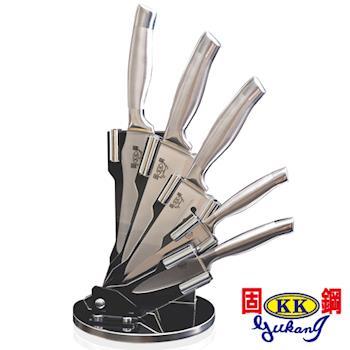 固鋼一體成形高級不鏽鋼刀六件組