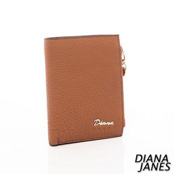 Diana Janes 牛皮兩折短夾-