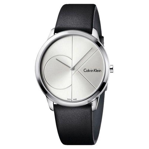 Calvin Klein CK Minimal 經典大LOGO腕錶 K3M211CY