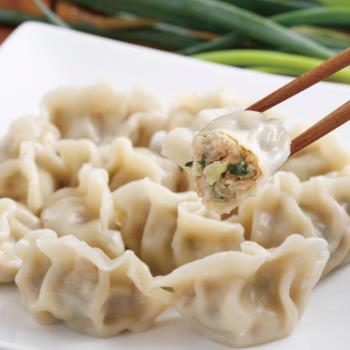 任-【禎祥食品】手工蔥肉水餃 (約40粒)
