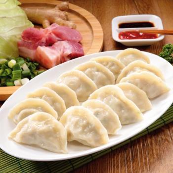 【禎祥食品】豬肉薑味水餃 (約100粒)
