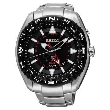 SEIKO PROSPEX GMT人動電能腕錶 46mm SUN049J1