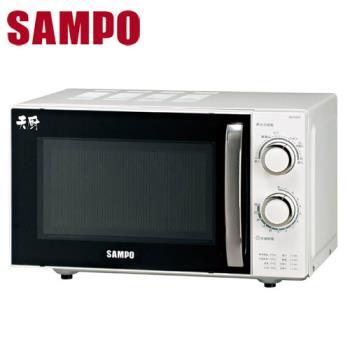 │SAMPO│ 聲寶20L機械式微波爐 RE-P201R/REP201R