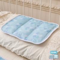日本SANKi  3D網冰涼枕墊 2入 (小樹風 / 綠水滴 / 雪花紫 /小雪花)    可選