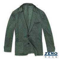 ZENO傑諾 精品舒適休閒西裝外套‧綠色L-3L