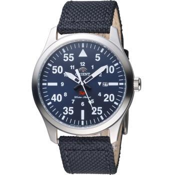 ORIENT 東方錶 SP系列 飛行運動石英錶 FUNG2005D 藍
