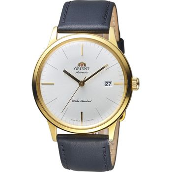ORIENT 東方錶 DATE II 日期顯示機械錶 FAC0000BW 金色