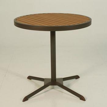BROTHER 兄弟牌半鋁塑木圓桌74cm