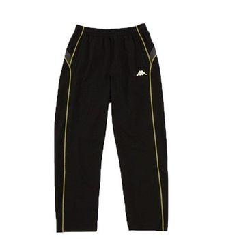 KAPPA義大利 型男ALL DRY吸濕排汗針織長褲~黑 PD46-8617-8