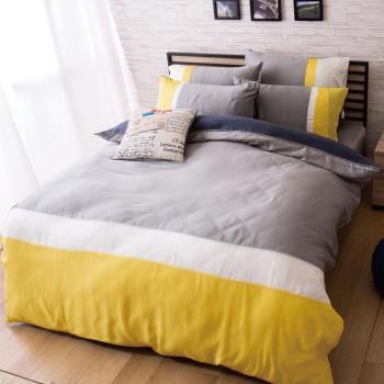 Ally 雙人四件式黎明破曉天絲床包兩用被組