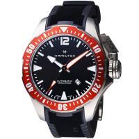 Hamilton 漢米爾頓卡其海軍 1000米鈦金屬蛙人腕錶 H77805335