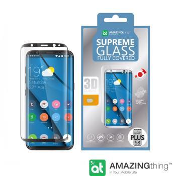AmazingThing 三星 Galaxy S8 Plus 滿版強化玻璃保護貼