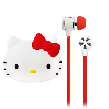Hello Kitty『熱情凱蒂』經典線控高音質耳機麥克風KT-EMA11R