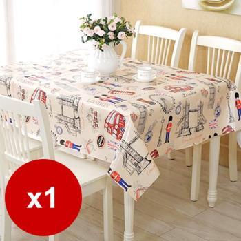 [Conalife] 時尚環保防油防水桌巾(137*180cm)