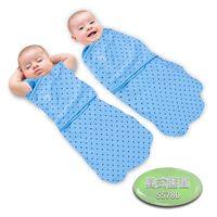 【美國Summer Infant】2合1聰明懶人育兒睡袋-美式藍星
