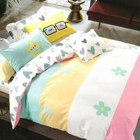 R.Q.POLO 童話王國 精梳棉 兩用被床包三件組(單人3.5X6.2尺)