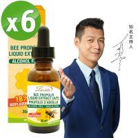 【Lovita 愛維他】蜂膠滴液(18%生物類黃酮) 超值六入組