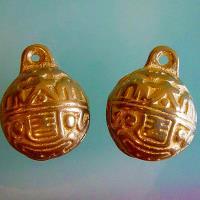 【開運陶源】催財銅鈴 一對銅製風鈴吊飾
