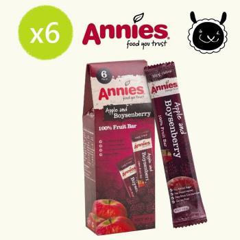 【壽滿趣- 紐西蘭原裝進口】Annies 全天然水果條(波森莓6盒36片家庭裝)