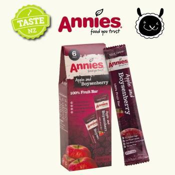 【壽滿趣- 紐西蘭原裝進口】Annies 全天然水果條(波森莓15gm x 6片)