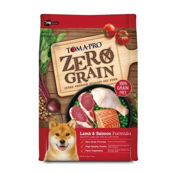 優格 零穀全齡犬羊肉鮭魚狗飼料乾糧 2.5磅 X 1包