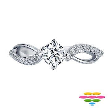 彩糖鑽工坊 瑪麗公主Princess Mary系列 19-21分鑽石戒指 (RD116)