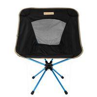【OutdoorBase】AMOEBA變形蟲-360度輕量鋁合金旋轉椅-低調黑