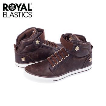 【Royal Elastics】男-Medio 休閒鞋-咖啡(07064-777)