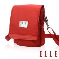 ELLE 法式淑女優雅時尚收納包/側背包/手機包/腰包-共三色