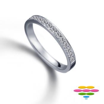 彩糖鑽工坊 Elegance系列 鑽石排戒戒指 (RD185)